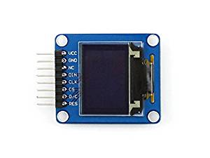 Angelelec DIY Open Sources, 0.95Inch RGB OLED (A), 0.95Inch RGB OLED, SPI Interface, Curved/Horizontal Pinheader, Driver Chip SSD1331, Interface SPI, Resolution 96¡Á64, Display Size 0.95Inch.