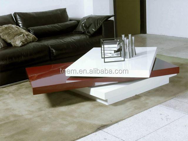 Divany Furniture Living Room Modern Coffee Table Fingerprint Cabinet Lock