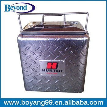 Diamond Plate Aluminum Ice Chest Cooler Buy Standing