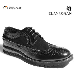 Wholesales men casual leather shoe in fashion style