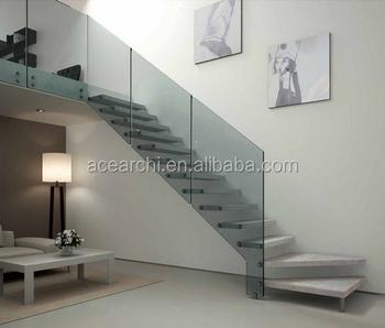 Haute Qualité Intérieur Flottant D\'escalier Côté Mur Escalier À ...