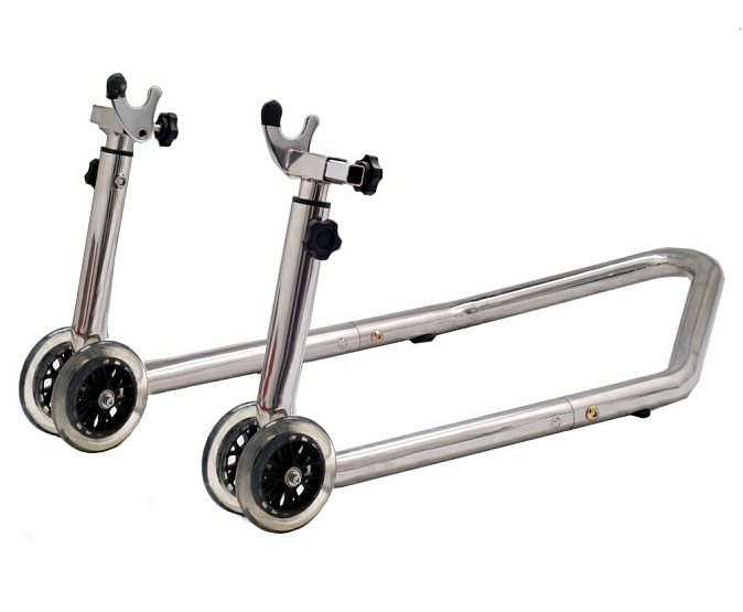 Stainless Steel Motorcycle stand,motorcycle support stand , Motorcycle rear and front stand SMI3036-SST