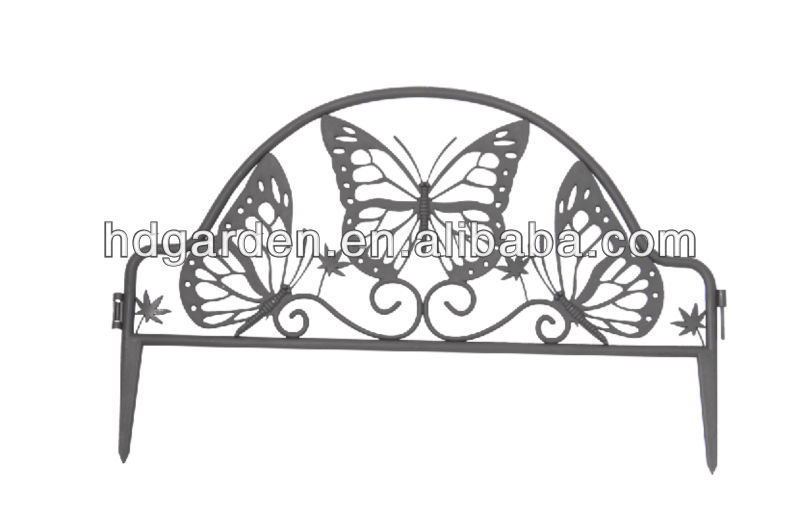 Plastic Garden Fence,Lawn Edging   Buy Plastic Garden Fence,Plastic Fence  With Butterfly Design,Plastic Small Garden Fence Product On Alibaba.com