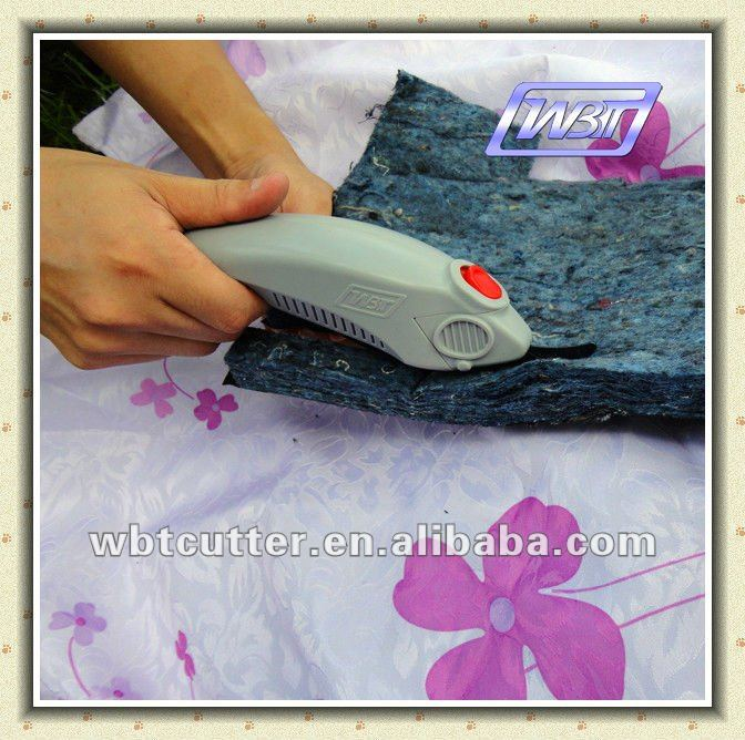 electric clipper cutting polyester cotton fabric cutting shears