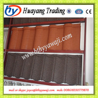 Top Quality and Cheap stone coated metal roof tile making machine and production line