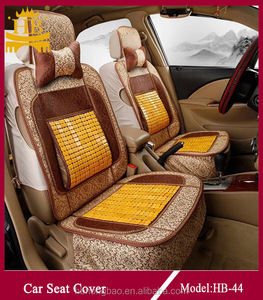 Summer cooling bamboo car seat cover