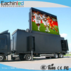 Mobile led screen trailer for advertising billboard P8 P10 led background video wall