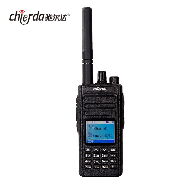 Chierda CD-D3000 Waterproof 2 Slots TDMA VHF UHF Digital DMR Radio фото