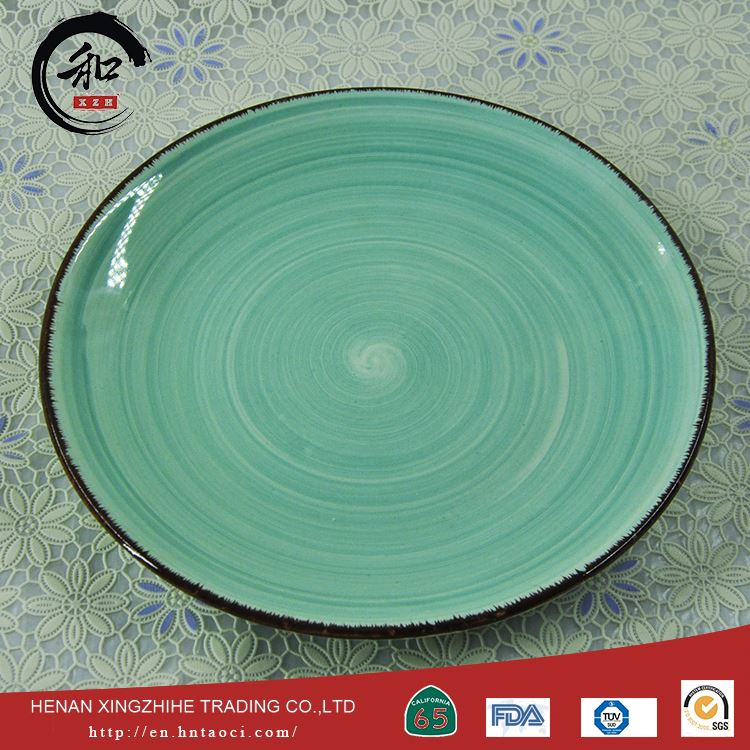 China Factory Wholesale Sauce Dish Dinner Det Custom Printed Ceramic Dishes