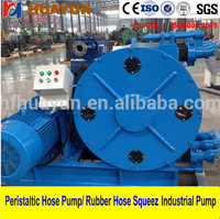 customized for filter press feed or sewage pressure peristaltic flexible hose for transfer intelligent electric oil pump