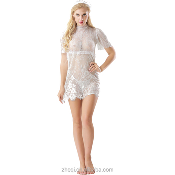 e6414fe96f2 Latest Woman Sexy Teddy Dress Transparent Sexy Night Dress For Woman ...