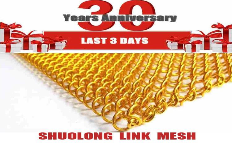 100 Counpons Shuolong Same As Cascade Coil Metal Mesh