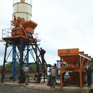 HZS Series 25m3/h Mini Automatic Concrete Batching Plant