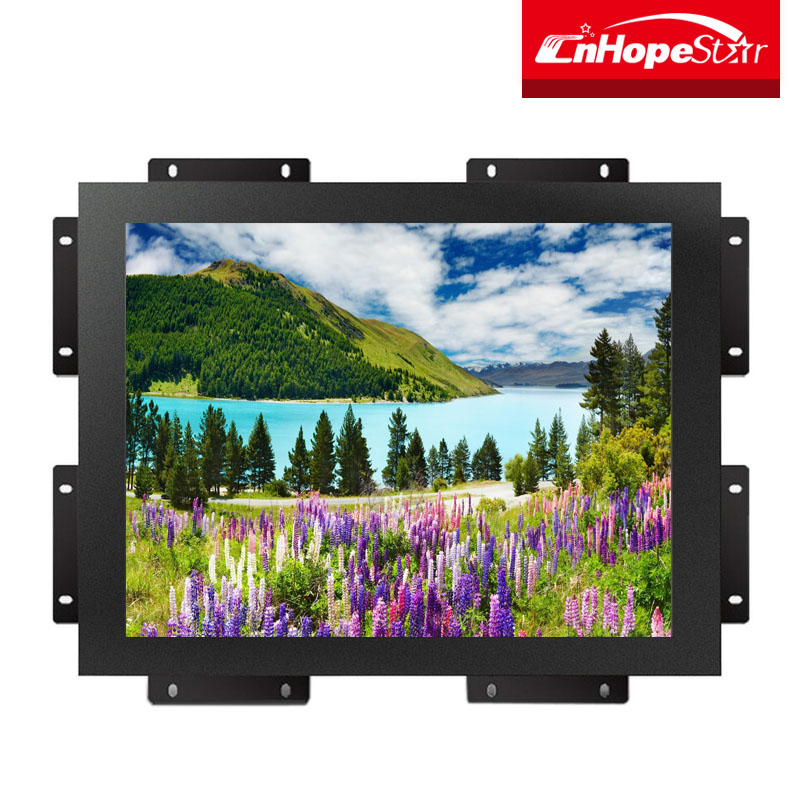 12'' open frame lcd touch screen monitor pc for industry