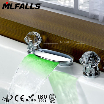 New Products On China Market Waterfall Bathroom Taps With Prices,Led ...