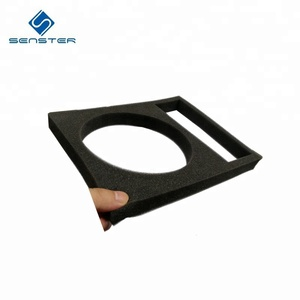 High density custom die cut pu sponge with case insert sponge foam packaging tray