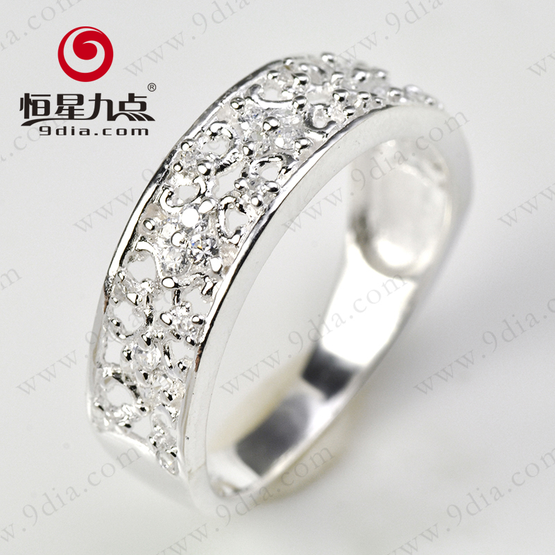 Light Weight 1 Gram Diamond Jewelry Simple Gold Ring Designs View