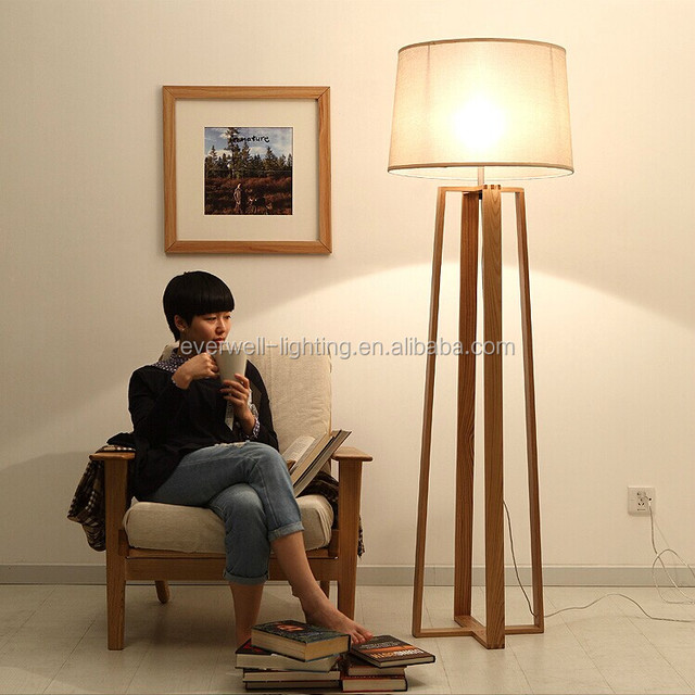 Hotel Floor Standing Lamp Wooden Living Room Floor Lights Part 95
