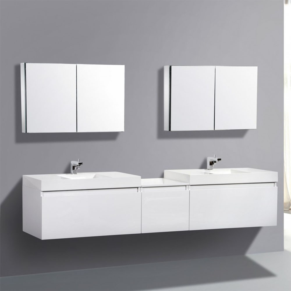 Made In China Double Sink Waterproof Modern Bathroom Vanity Cabinets ...