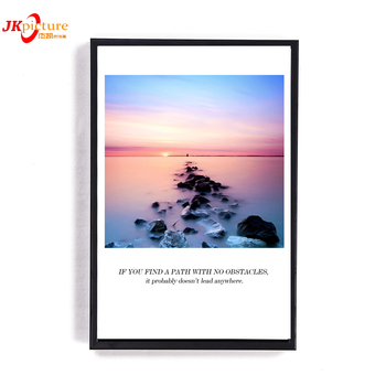 3 piece wall art decoration beach sea of clouds Natural Scenery Wall Hanging Picture Painting
