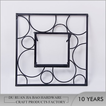 Fashion Beautiful Picture Frame Designs / Wedding Metal Photo Frame / Wall  Hanging Love Frames Photo