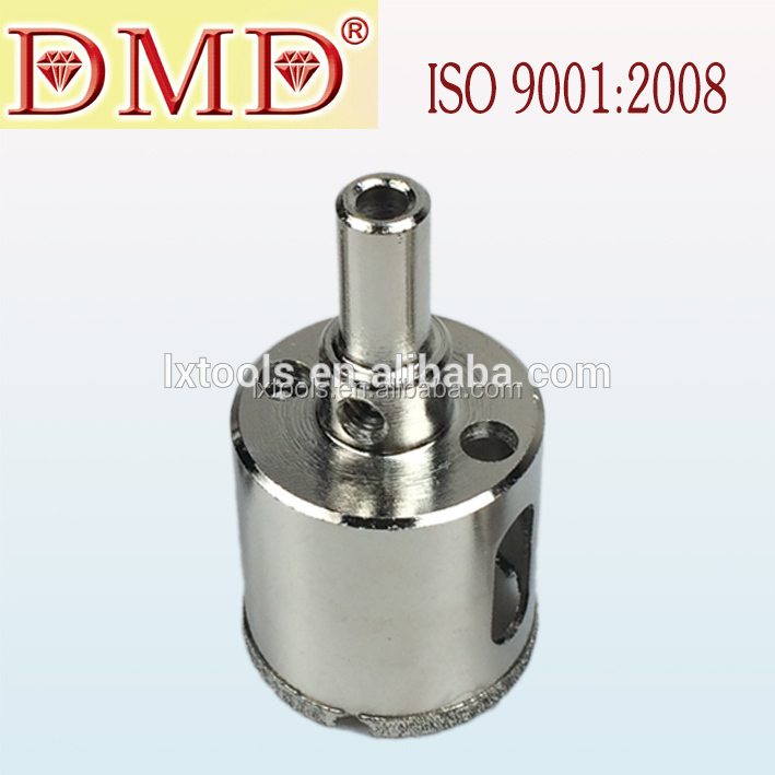 Hot Selling Glass /Stone Tools LX-1025 Electroplated Diamond Drill Bit Hole Saw