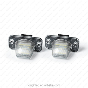 Extremely Bright car light VW T4 LED License number Plate Lamp Bulb
