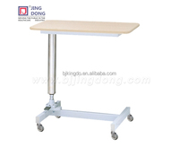 Woodern Modern Hospital Over Bed Food Fining Table/desk