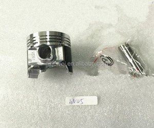 Engine spare parts 52.5mm piston, single cylinder block piston Kit for AN125 with high quality