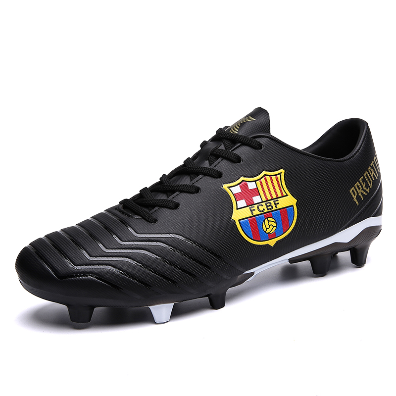 YT Shoes Boys Wear Training Skid Broken Nails football Cleats Athletic Soccer Shoes For Men фото