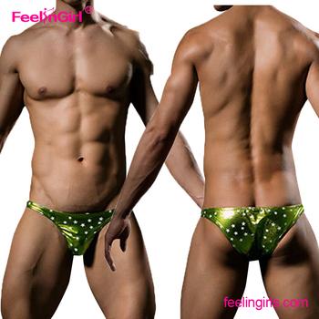 Green sexy underwear