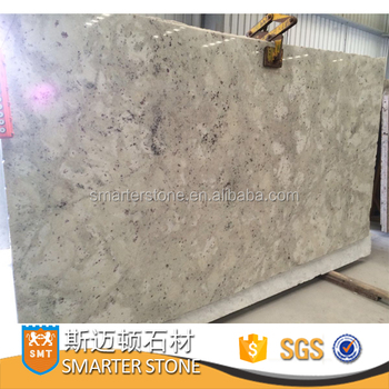 Andrometa White Slab Standard Size Of Granite For Countertop