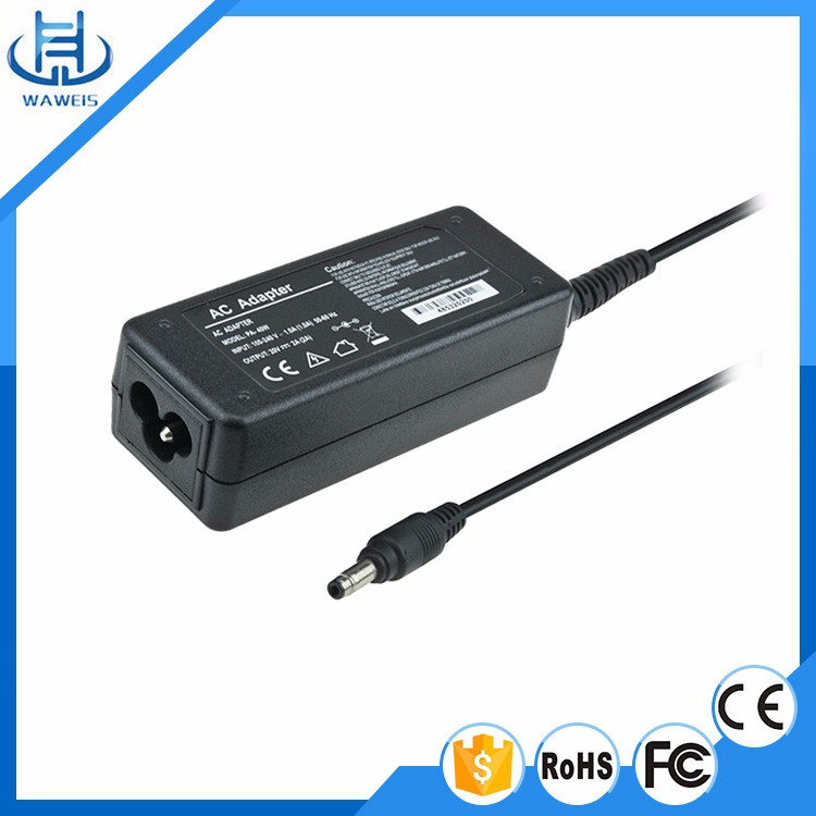 Real Factory 19v 3.42a 65W Laptop Adapter Chargrer for Toshiba CE FCC ROHS