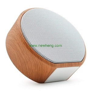 Creative Gifts Ultra Mini Wooden Bluetooths Speaker