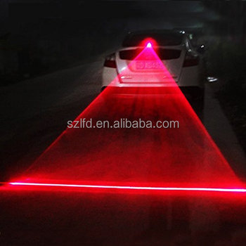 Red LASER Car LED Fog Light Warning Signal Tail lighting Bulb Lamp For Cars Vehicle