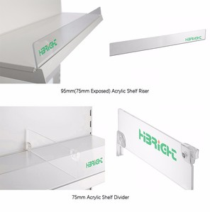 Acrylic Supermarket Shelf Dividers Whole Suppliers Alibaba