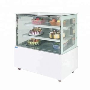 Japanese style glass door air cooler cake display