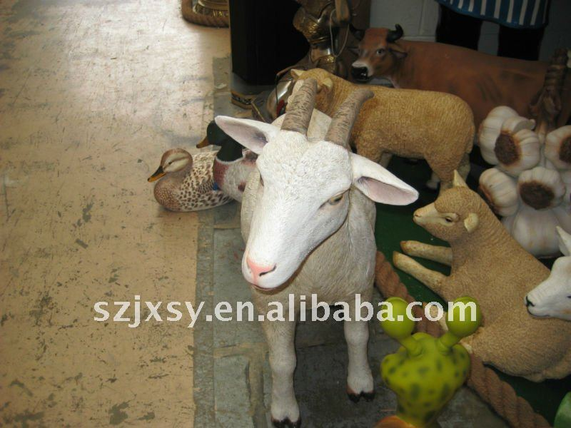 The newest designed garden ornaments sheep