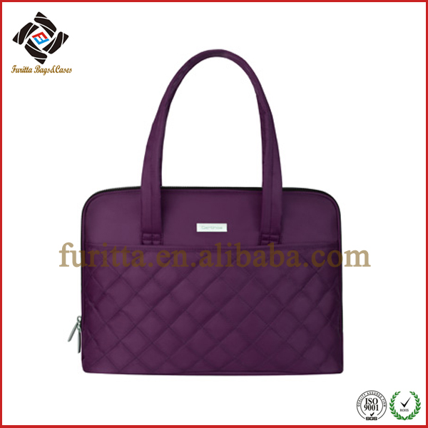 Silk Nylon Lycra Handbag for 14.1 inch Laptop