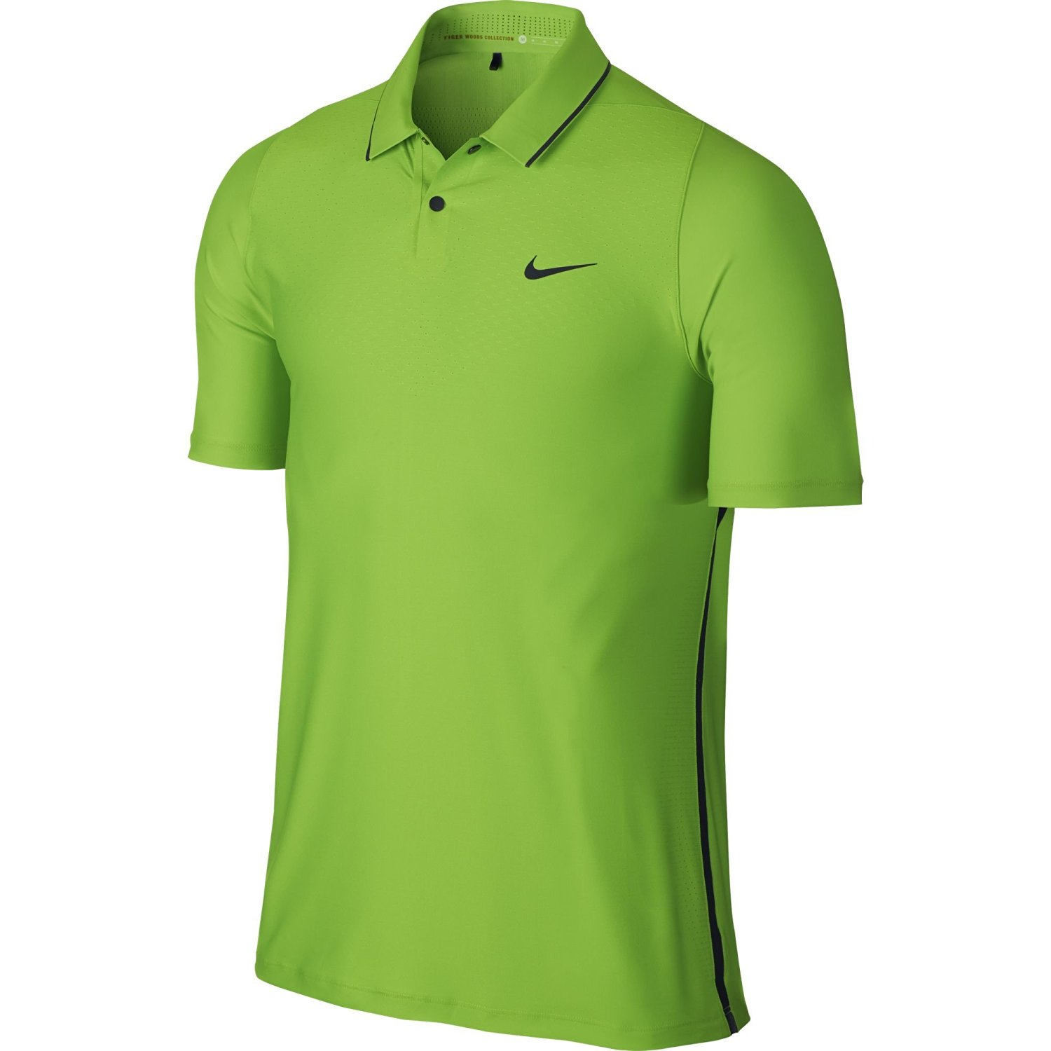 5facc3e3d16 Get Quotations · NEW Nike Tiger Woods TW VL Max HyperCool Polo Action  Green Black Large Shirt