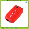 Fashion designs reusable waterproof silicone rubber car key case