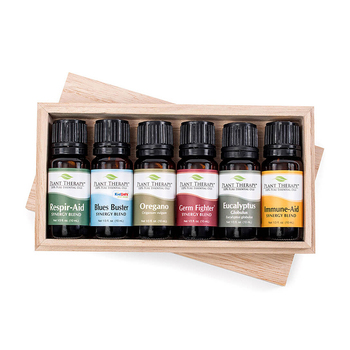 Private label 100% pure organic skin care naturals massage essential oil gift box