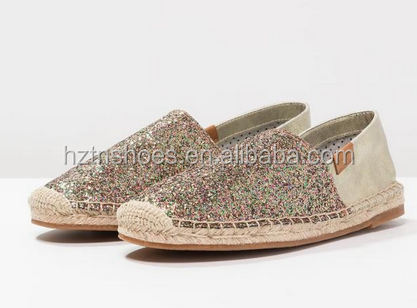 Comfort Glitter Espadrille Women Sheos 2017 Shoes from China Wholesale