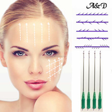 Pdo thread 3d 4d cog blunt for face eyebrow lifting