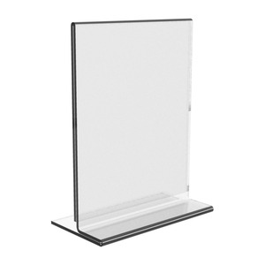 A3 A4 A5 Acrylic Vertical Horizontal Sign Holder Menu Stand