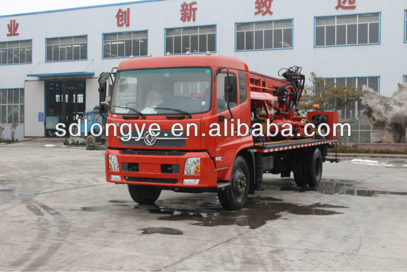 SLY300 truck-mounted water well drilling rig