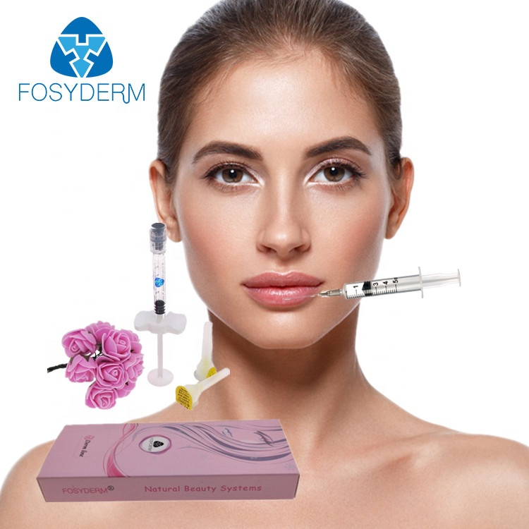 Alibaba.com / Fosyderm  Injectable Dermal Fillers   Face&Lips Implant Cross-Linked Hyaluronic Acid,2ml,1ml Derm