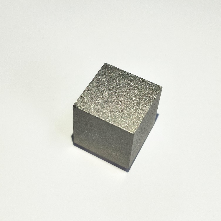 Custom made pure tungsten block kilo cube for sale