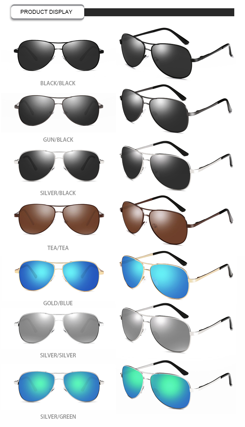 custom black flys sunglasses fashion design for driving-15