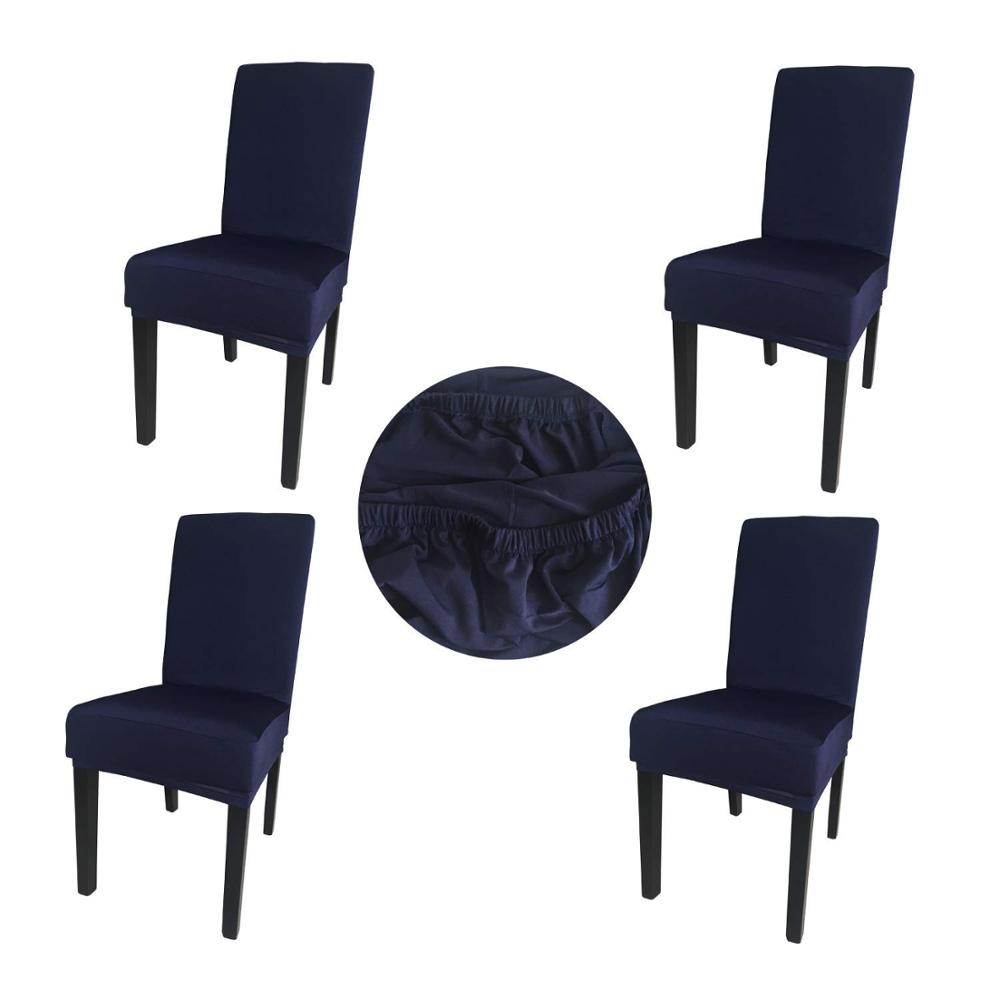 Astonishing Gold Fortune Spandex Fabric Stretch Dining Room Black Chair Cover Buy Black Chair Cover Dining Room Black Chair Cover Protective Black Chair Cover Machost Co Dining Chair Design Ideas Machostcouk